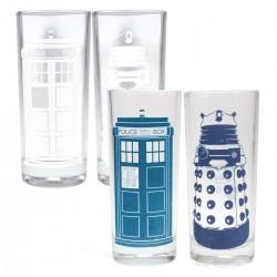 Bicchieri termosensibili TARDIS e Dalek