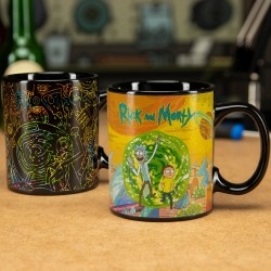 Mug termosensibile Rick and Morty