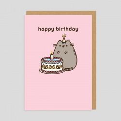 Biglietto di compleanno Pusheen Cat