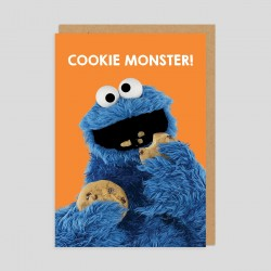 Biglietto di auguri Cookie Monster