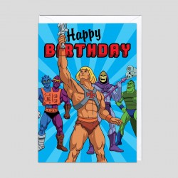Biglietto di auguri Masters of the Universe