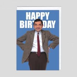 Biglietto di compleanno Mr.Bean