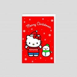 Mini Biglietto di Natale Hello Kitty