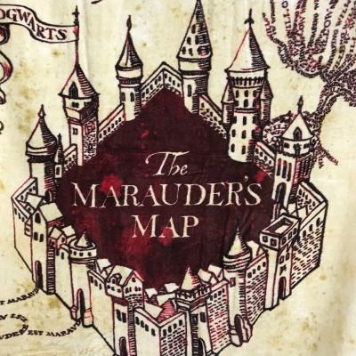 Telo mare Mappa del Malandrino
