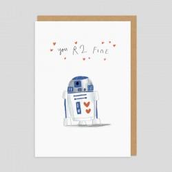 Biglietto di auguri R2-D2