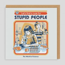 Biglietto di auguri Stupid people