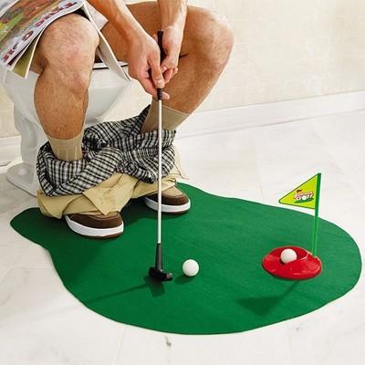 Potty Putter - Gioco di golf da toilette