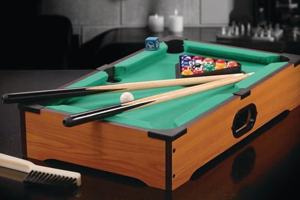 Mini giochi da bar parte 1 dottorgadget - Mini biliardo da tavolo ...