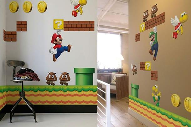 Adesivi Murali Super Mario.Gli Adesivi Da Muro Di Super Mario