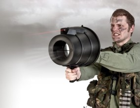 Laser Airzooka, il cannone ad aria