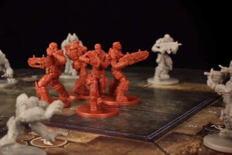 Gears of war il gioco da tavolo dottorgadget - Zombie side gioco da tavolo ...