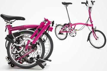 Brompton Bici Pieghevole.Brompton La Bici Pieghevole Super Compatta