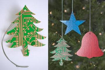 Circuiti elettronici come addobbi natalizi dottorgadget - Addobbi natalizi da giardino ...