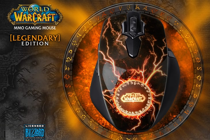World of warcraft gaming mouse legendary edition dottorgadget - Cuffie piscina personalizzate ...
