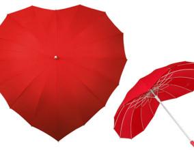 Love Umbrella, l'ombrello a forma di cuore
