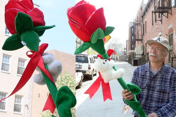 Popolare A San Valentino regala una rosa gigante peluche | DottorGadget TZ72