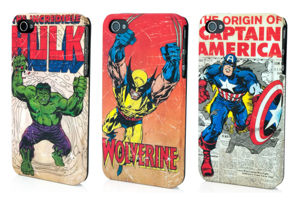 Cover Marvel per iPhone 4