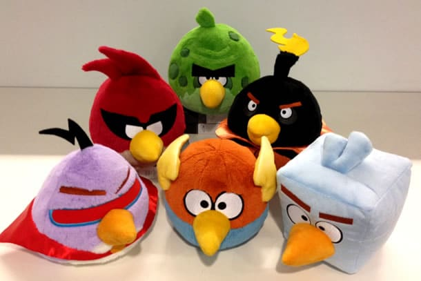I Peluche di Angry Birds Space