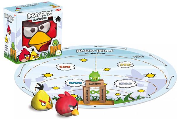 Angry birds action game dottorgadget - Angry birds gioco da tavolo istruzioni ...