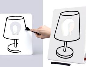 Drawlamp, disegna la tua lampada
