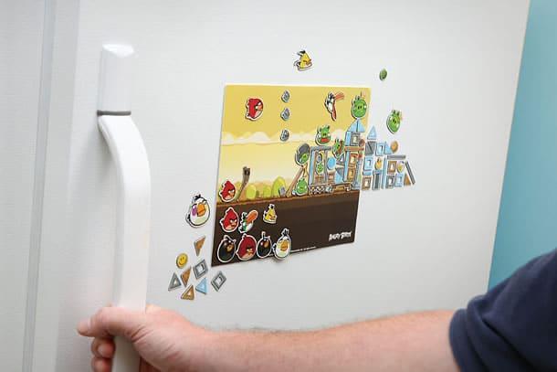 I magneti di angry birds seconda serie dottorgadget for Gadget da piscina