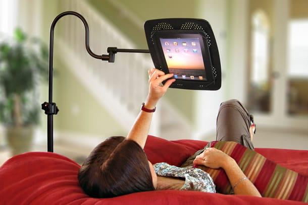 Lo stand da letto per tablet dottorgadget - Leggio da letto per libri ...