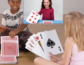 Le carte da gioco giganti