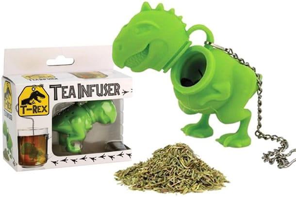 Tea rex l 39 infusore a forma di t rex dottorgadget for Piani domestici a forma di t