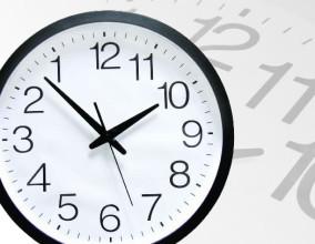 L'orologio antiorario