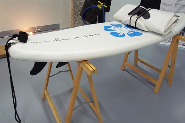 Surf air la tavola da surf gonfiabile dottorgadget - Tavola da surf motorizzata prezzo ...