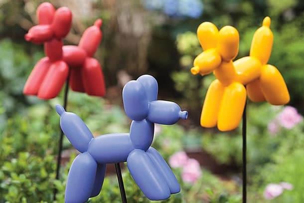 I cani palloncino da giardino dottorgadget for Animali da giardino finti
