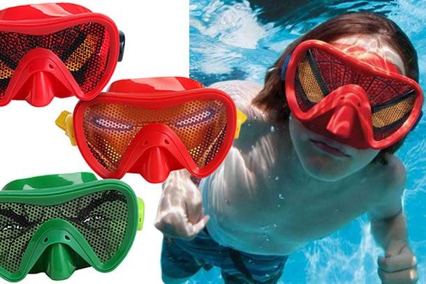 Le maschere da mare della marvel dottorgadget for Gadget da piscina