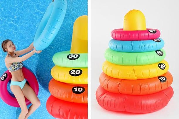 Gli anelli giganti da piscina dottorgadget for Gadget da piscina