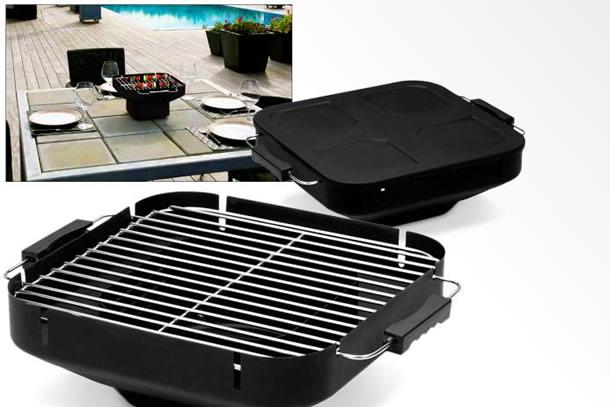 Il barbecue da tavolo dottorgadget - Barbecue a gas da tavolo ...