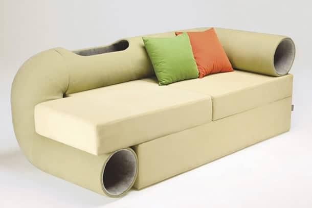 Il divano per gatti dottorgadget - Coppia di amatori che scopano sul divano ...