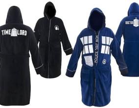 Gli accappatoi di Doctor Who