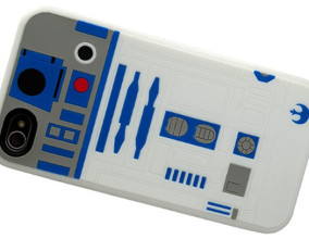 Il case per iPhone 4 e 4S di R2-D2