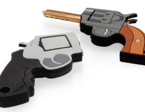 Coprichiave forma di pistola