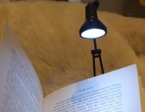 Lampada da lettura Tiny Tim