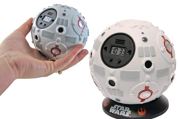 La sveglia che prende ispirazione dalla sfera vista nei film di Star ...