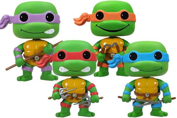 Le tartarughe ninja pop di funko dottorgadget for Lago tartarughe