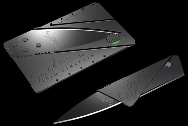 Il coltello carta di credito dottorgadget for Carta di credito per minorenni