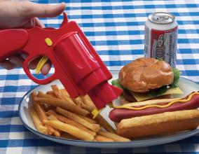 La pistola per condimenti