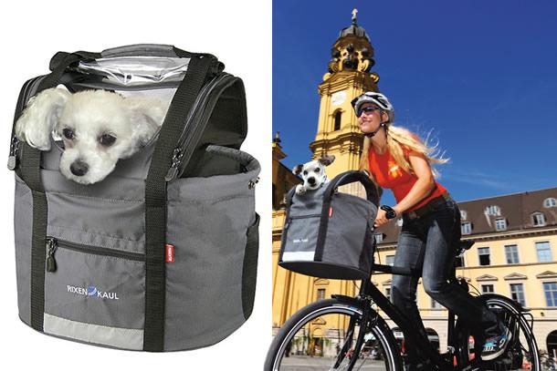 La borsa porta animali per biciclette dottorgadget - Borsa porta cane ...