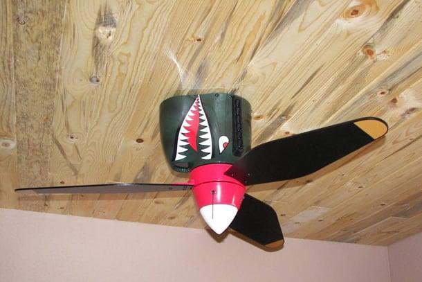 Le pale da soffitto bocca di squalo dottorgadget for Guerra lampadari