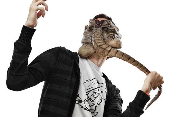 Un inquietante maschera tratta dal capolavoro di ridley scott