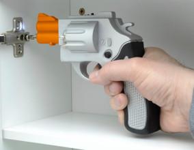 Avvitatore elettrico a forma di pistola