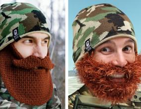 Cappelli con barba mimetici