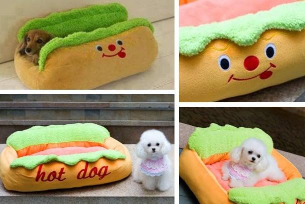 Il letto hod dog per cani dottorgadget - Letto per cani ...