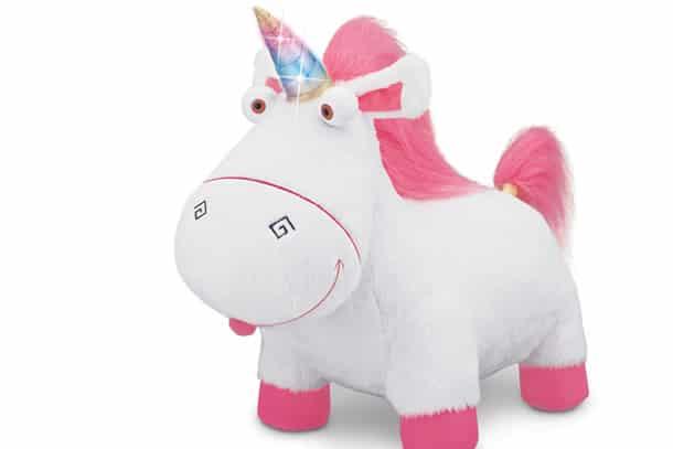 Il peluche dell unicorno di cattivissimo me dottorgadget for Tavolo unicorno